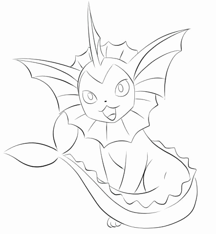442x480 Flareon Coloring Page Collection Pokemon Coloring Pages Flareon