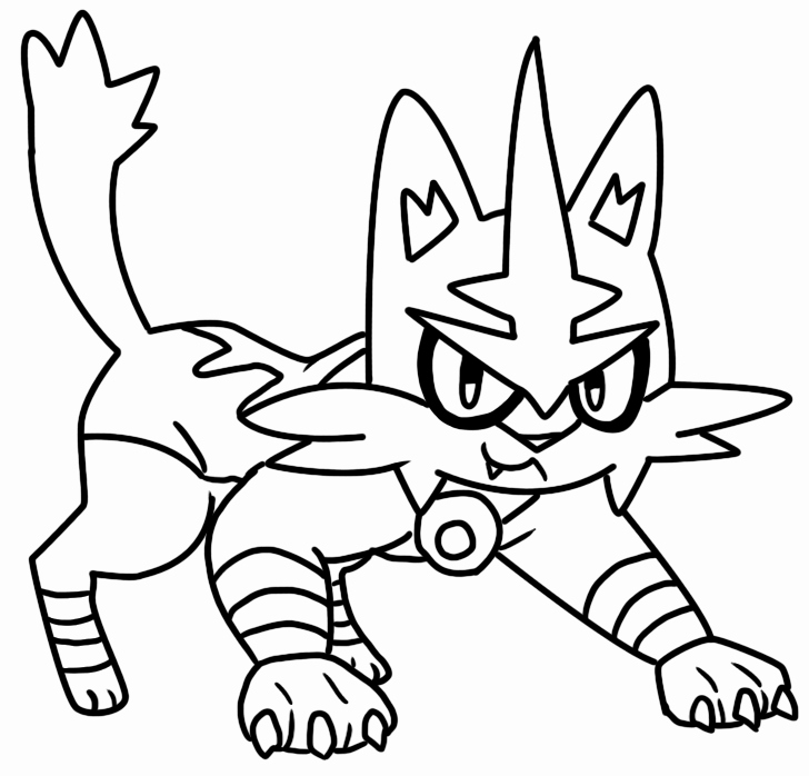 Pokemon Coloring Pages Flareon At Getdrawings Com Free For