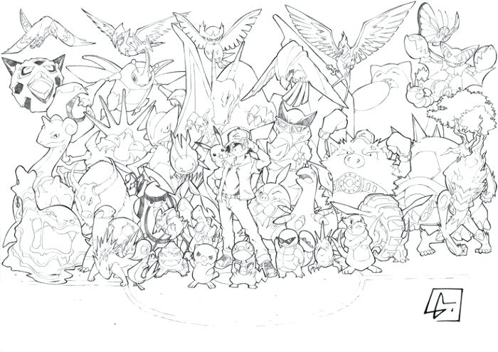 Pokemon Coloring Pages For Adults At Getdrawings Free Download