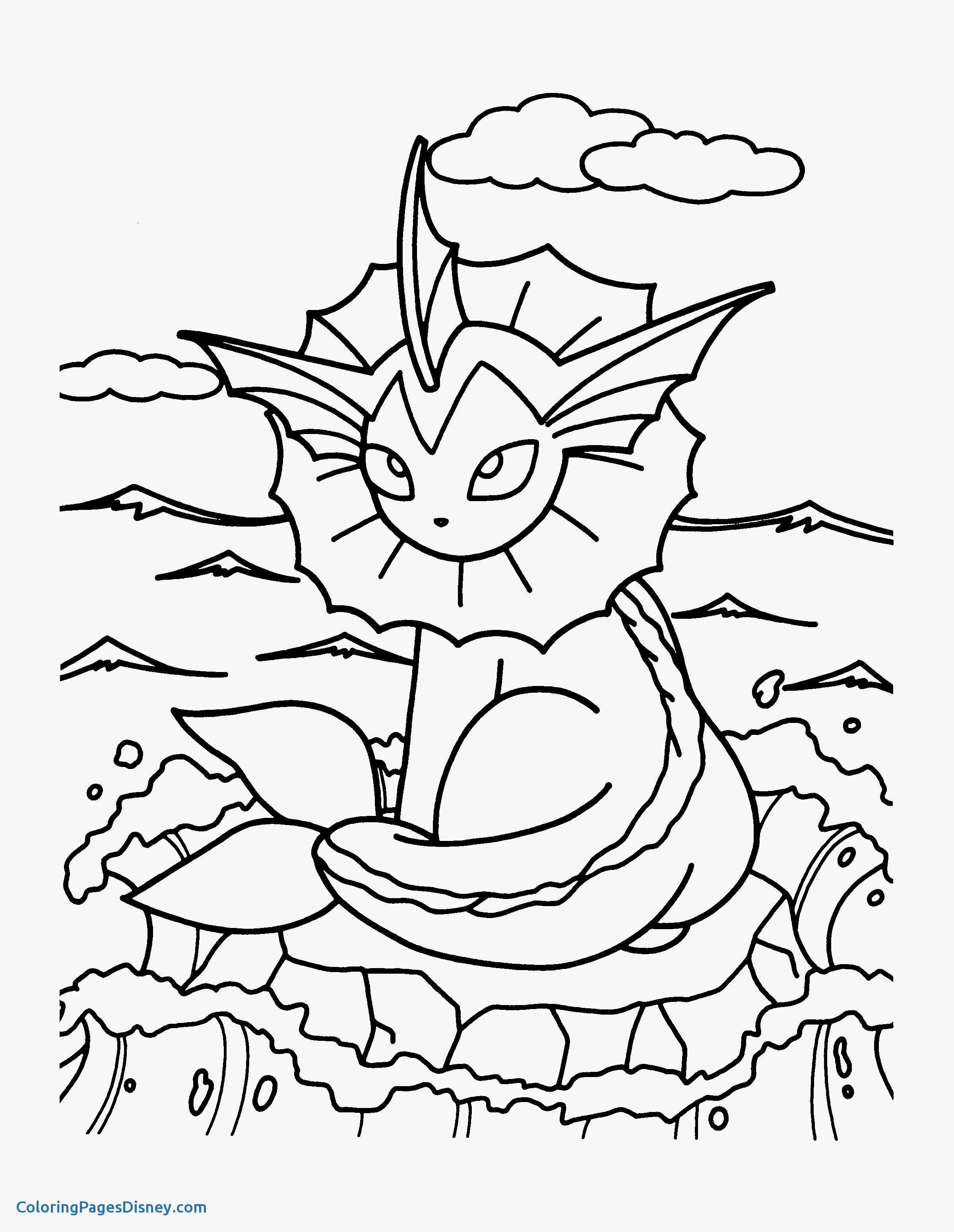 Pokemon Coloring Pages Games At GetDrawings