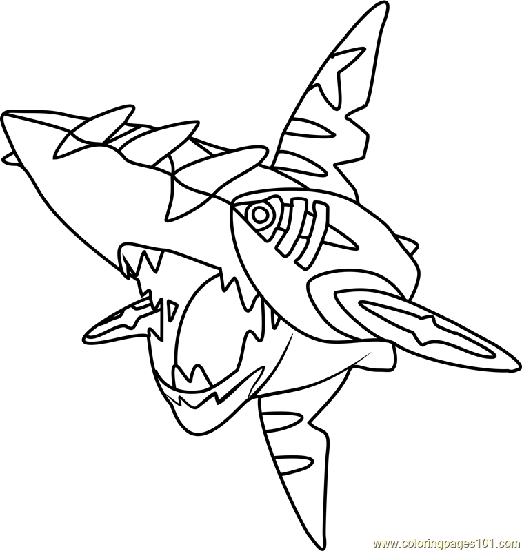 757x800 Mega Pokemon G On Mega Pokemon Coloring Pages