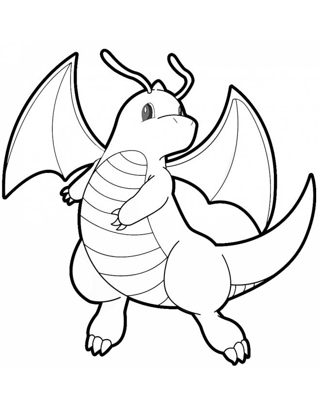 660x847 Amazing Pokemon Coloring Pages Dragonite Coloring Page Pokemon