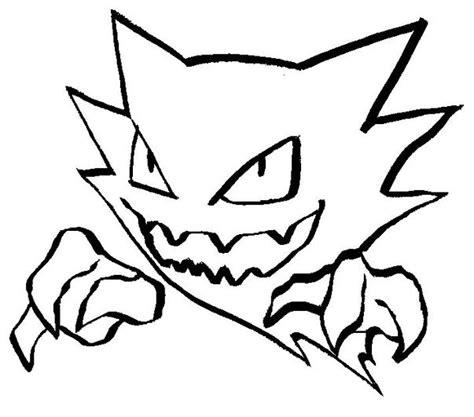 474x417 Unbelievable Mobile Pokemon Haunter Coloring Pages For Trends