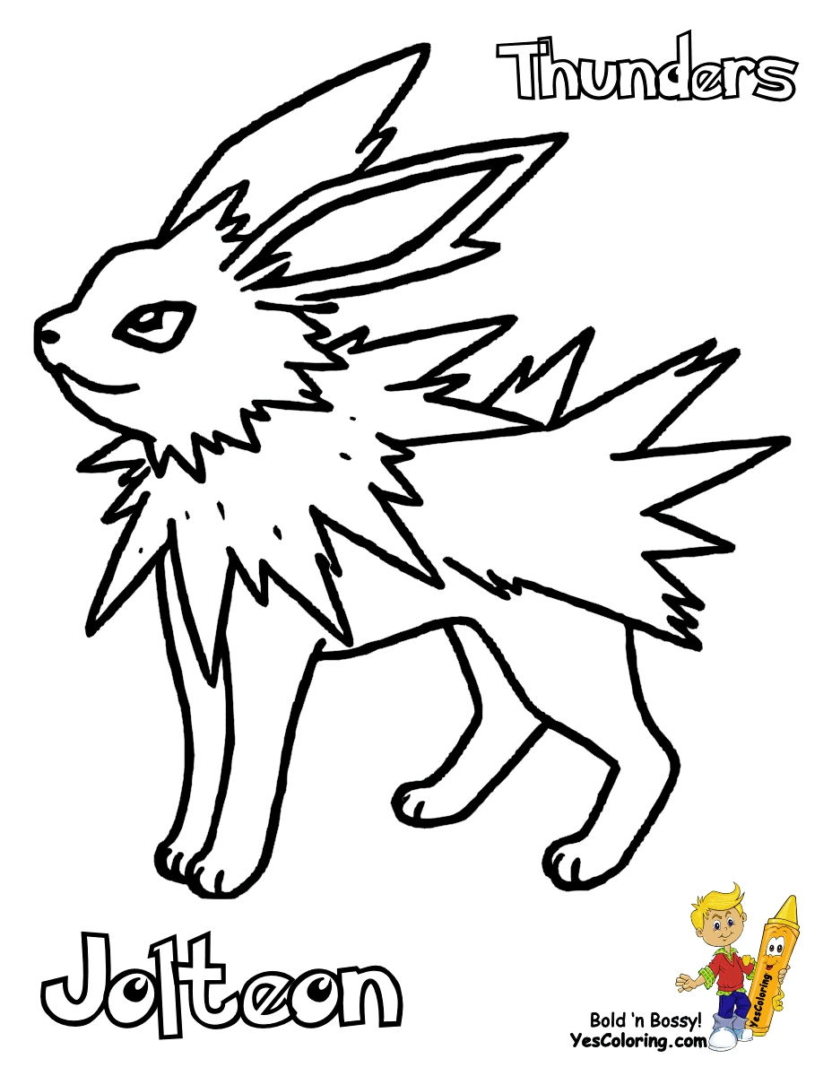 928x1200 Jolteon Coloring Pages Selection Free Coloring Pages