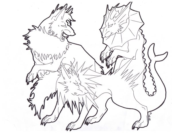 600x464 Flareon, Vaporeon And Jolteon Coloring Pages