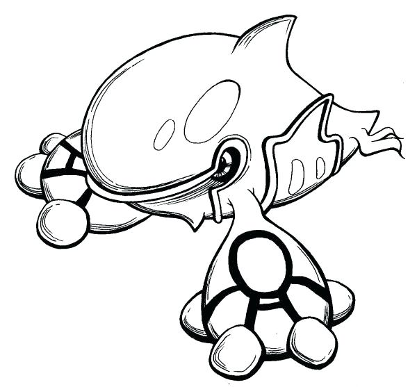 600x557 Kyogre Coloring Pages Stunning Color Pages Coloring Page Free