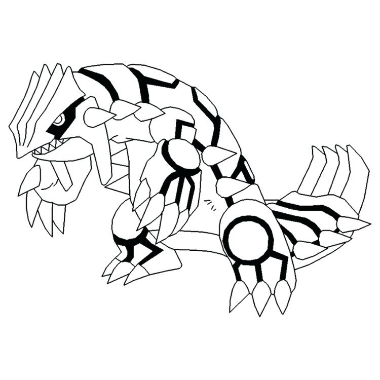 750x750 Primal Kyogre Colouring Pages Printable Coloring Free Coloring
