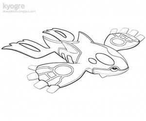 300x249 Pokemon Kyogre Coloring Pages Printable Coloring Book, Kyogre