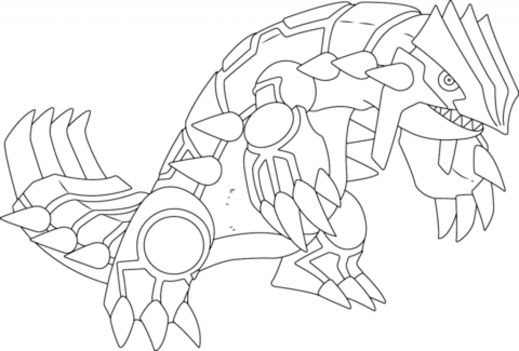 1024x693 Kyogre Coloring Page Groudon Pokemon Coloring Page Free Printable