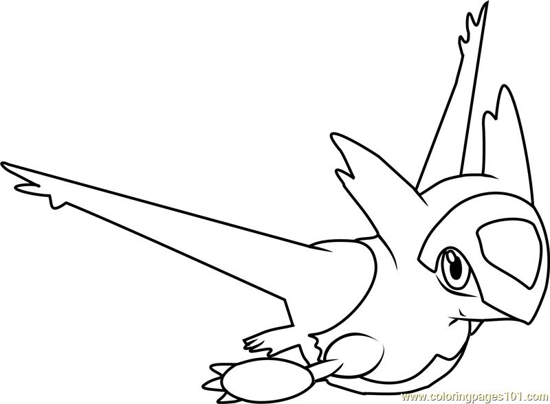 800x588 Latias Pokemon Coloring Page