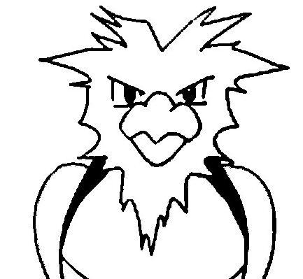 433x399 Mega Latios Pokemon Coloring Page