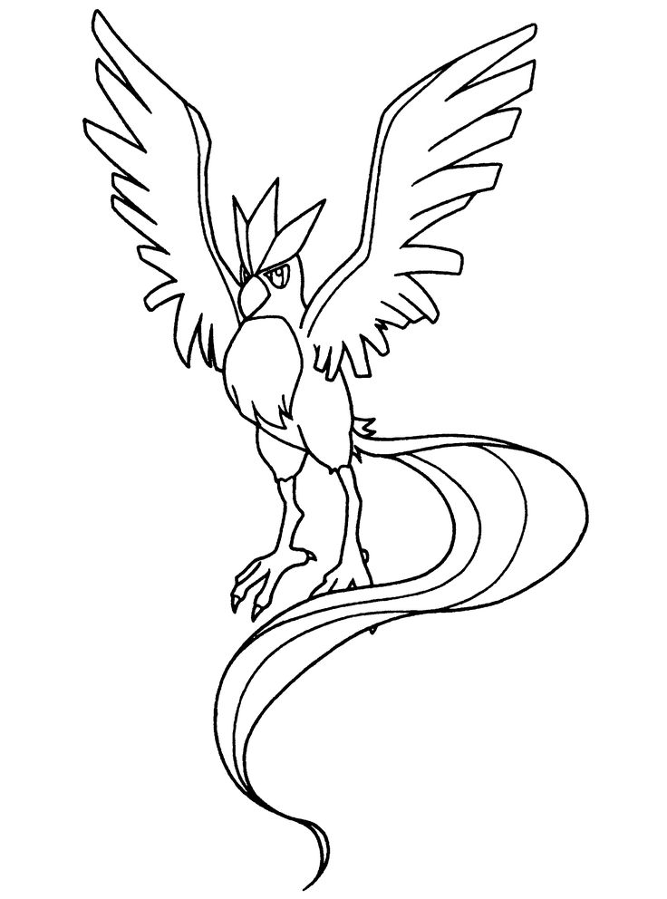736x992 Legendary Pokemon Coloring Pages