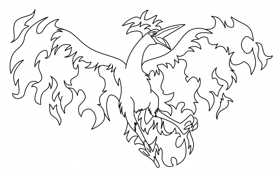 940x585 Coloring Pages Pokemon Legendary