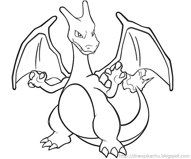640x533 Pokemon Coloring Pages Charizard Pictures To Color Google Search