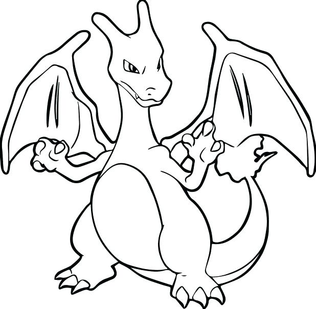 618x604 Free Printable Coloring With Pics Pokemon Coloring Pages Mega