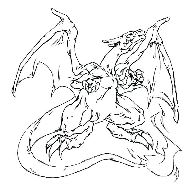 600x600 Mega Charizard Coloring Page Pokemon Coloring Pages Mega Charizard