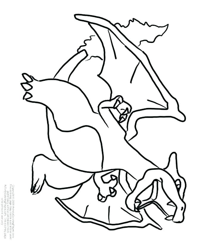 709x808 Mega Charizard Coloring Page Projects Idea Coloring Pages Mega X
