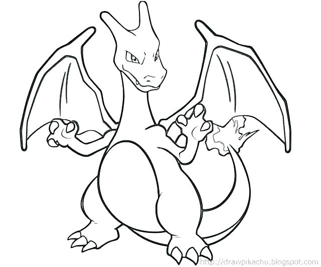 640x533 Charizard Coloring Page Here Are Coloring Page Pictures Mega