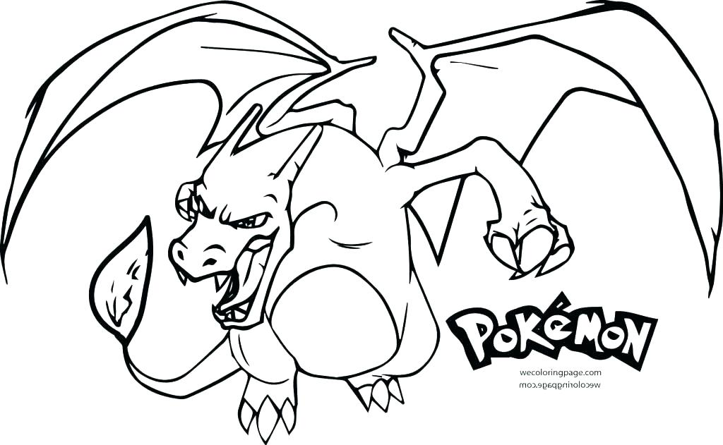 1024x631 Pokemon Coloring Pages Charizard Coloring Pages Printable X Mega