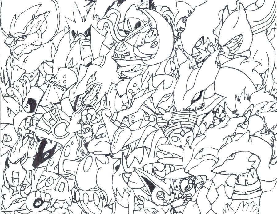 900x696 Pokemon Coloring Pages Mega Lucario Sketch