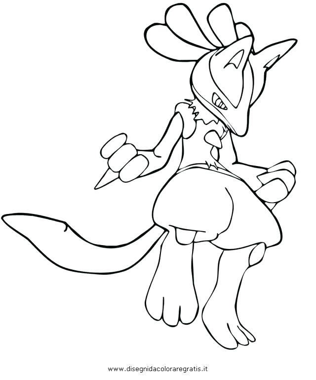 640x769 Pokemon Lucario Coloring Pages Coloring Pages Shared