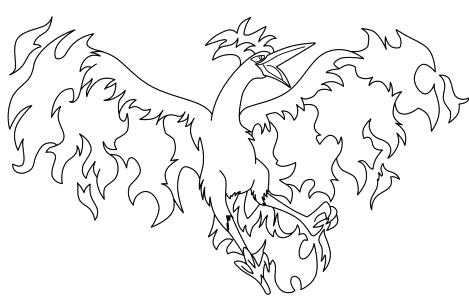 469x304 Pokemon Legendary Coloring Pages Coloring Pages Legendary Birds