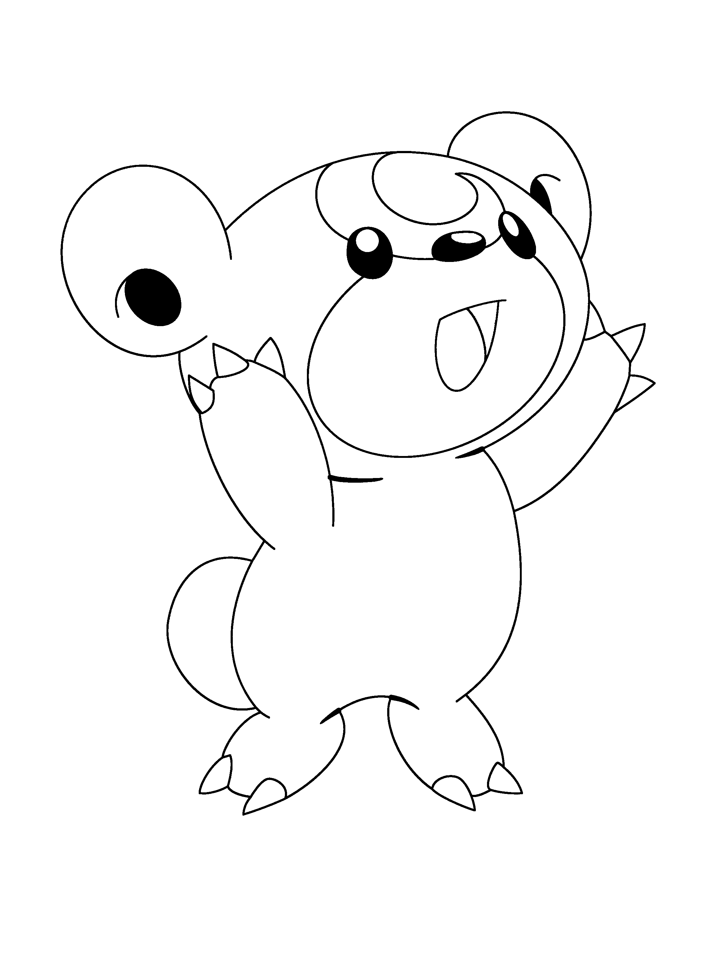 Pokemon Coloring Pages Pachirisu