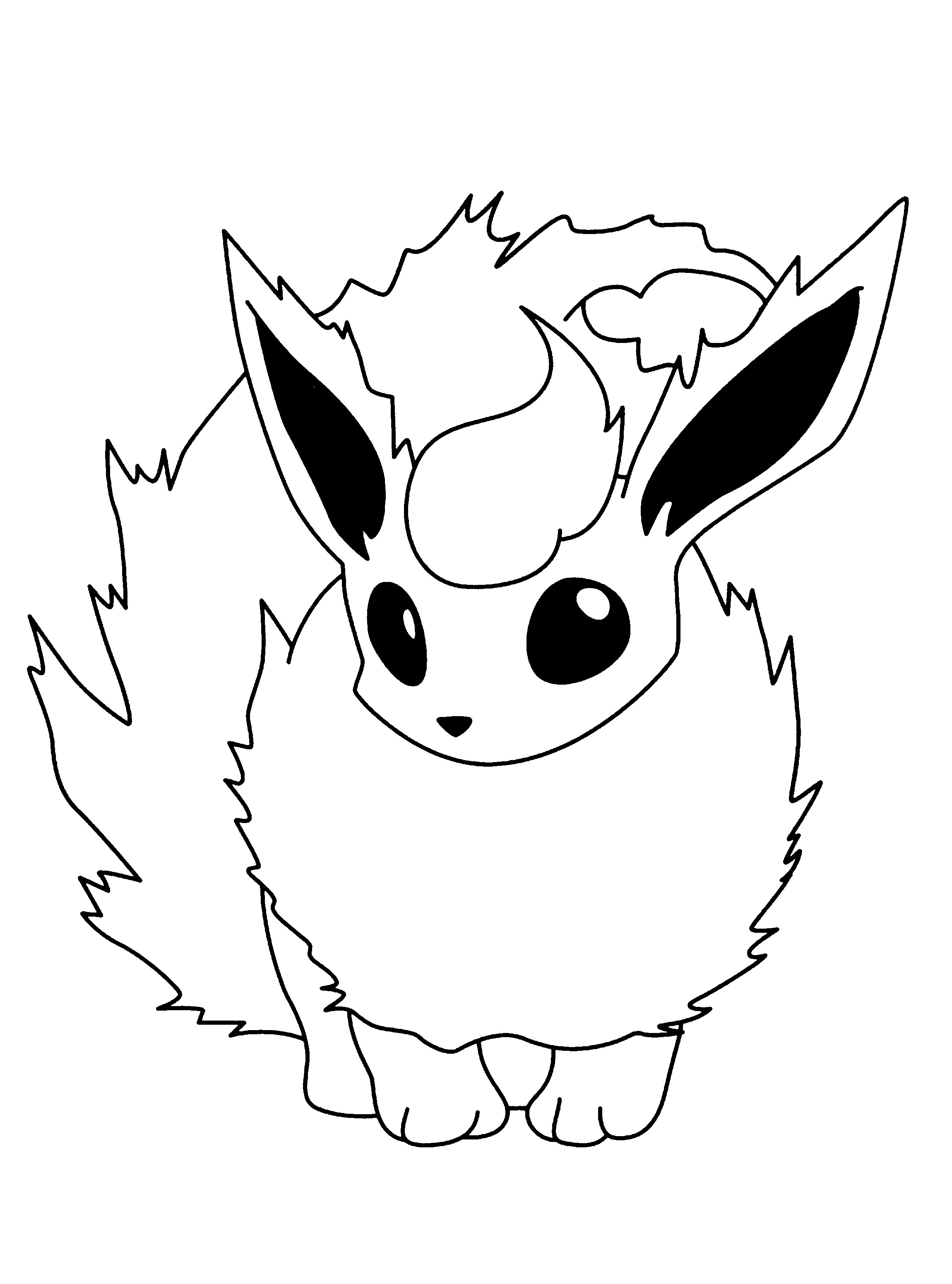 2300x3100 Fresh Pachirisu Coloring Pages Page Free Printable
