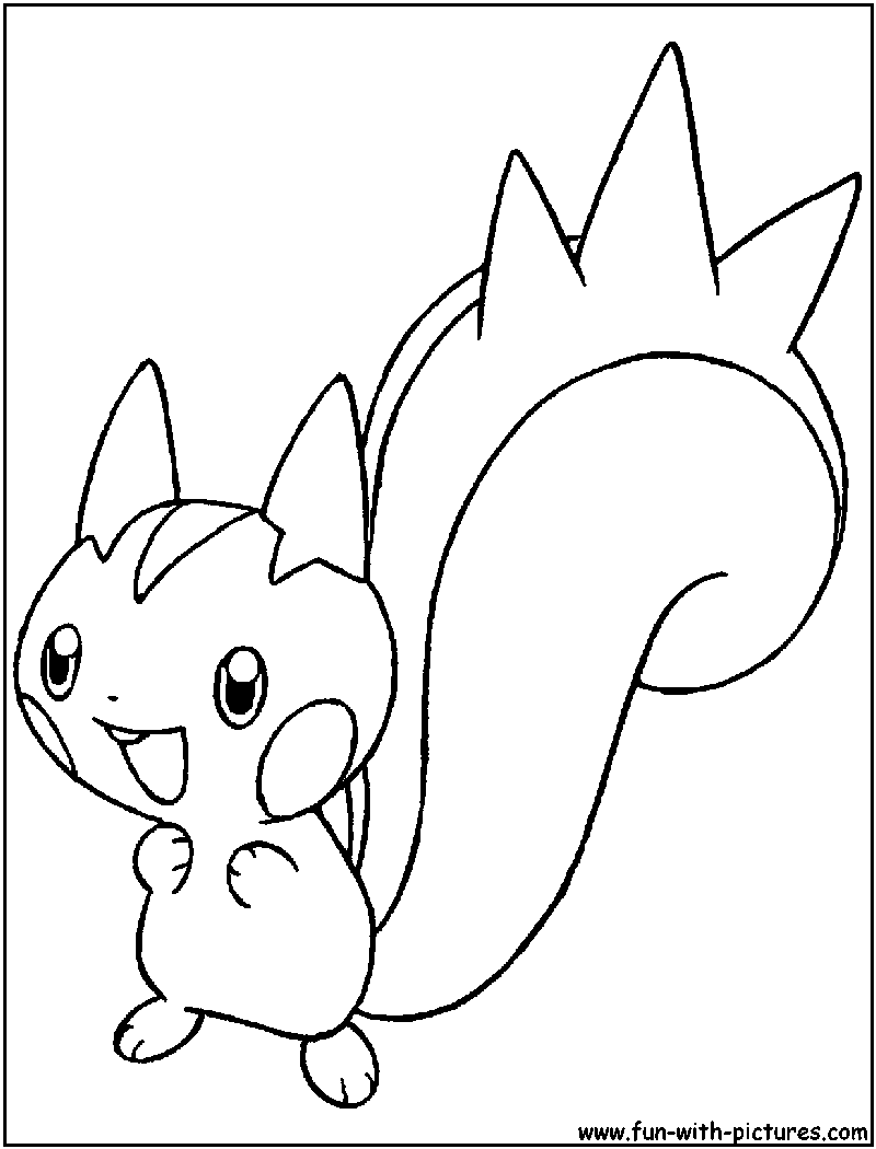 800x1050 Sure Fire Pachirisu Coloring Pages Strange Page