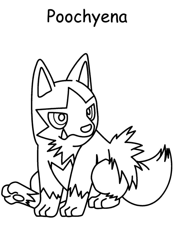 Pokemon Coloring Pages Pictures