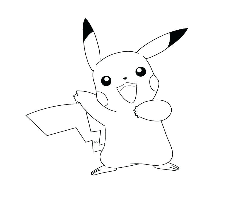 800x667 Pikachu Coloring Pages Entertaining Coloring Pages Print Coloring