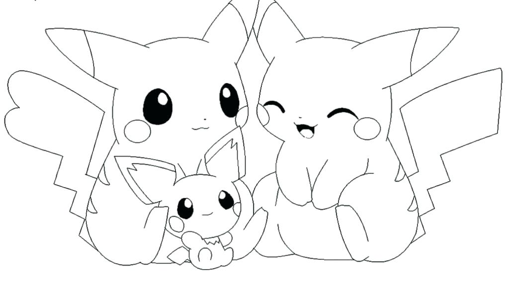 1024x567 Pokemon Coloring Pages Pikachu Draw All Coloring Pages On Online