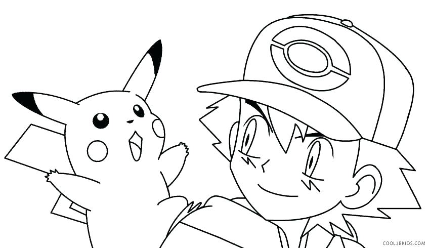 850x490 Coloring Pages Pikachu Coloring Pages Coloring Pages Images