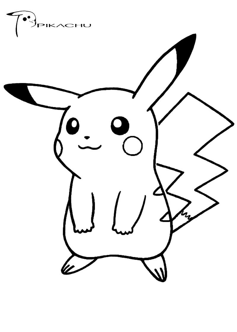 800x1120 Pokemon Coloring Pages Pikachu Cute Activities For Events