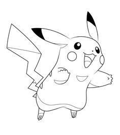 236x264 Pokemon Coloring Pages Pikachu Cute Color Pages