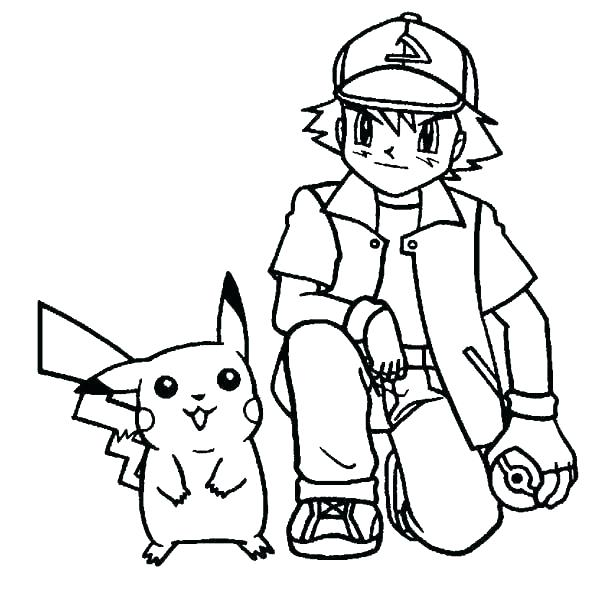 600x604 Pokemon Coloring Pages Pikachu Ex To Print
