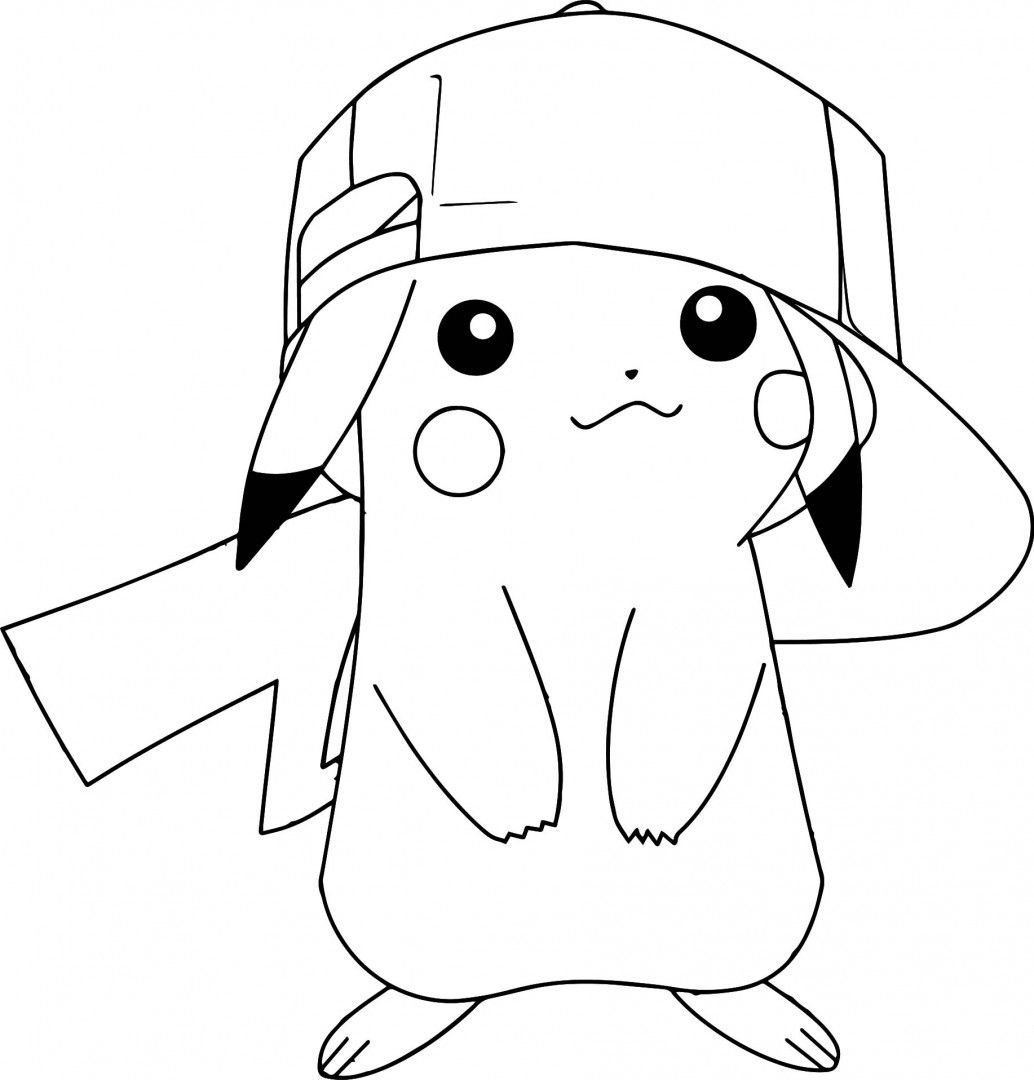 1034x1080 Coloring Pages Pikachu Ex