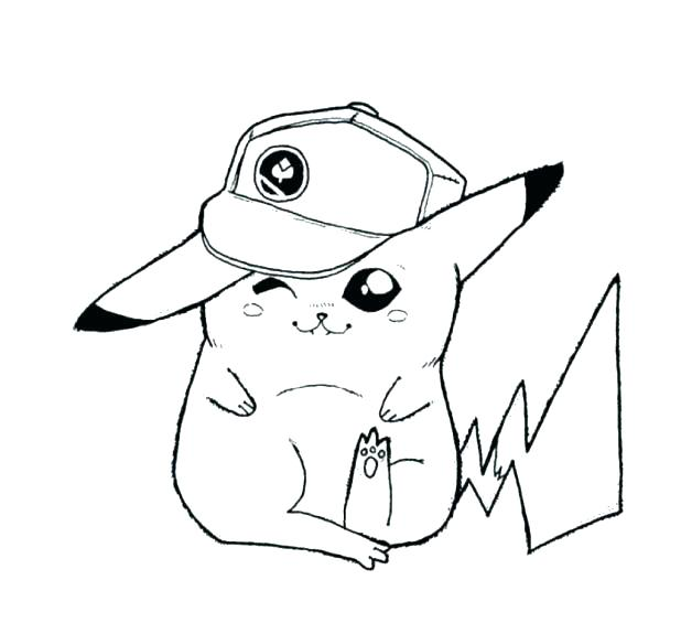618x565 Coloring Pages Of Pikachu Electric Coloring Pages And Friends