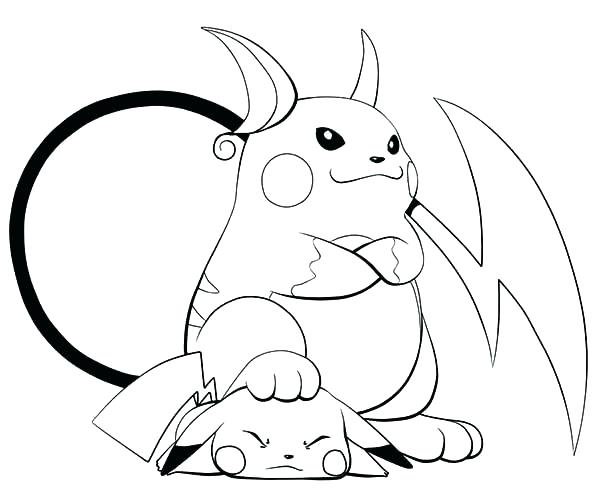 600x494 Coloring Pages Pikachu Is Lose To Coloring Page Color Pages Free
