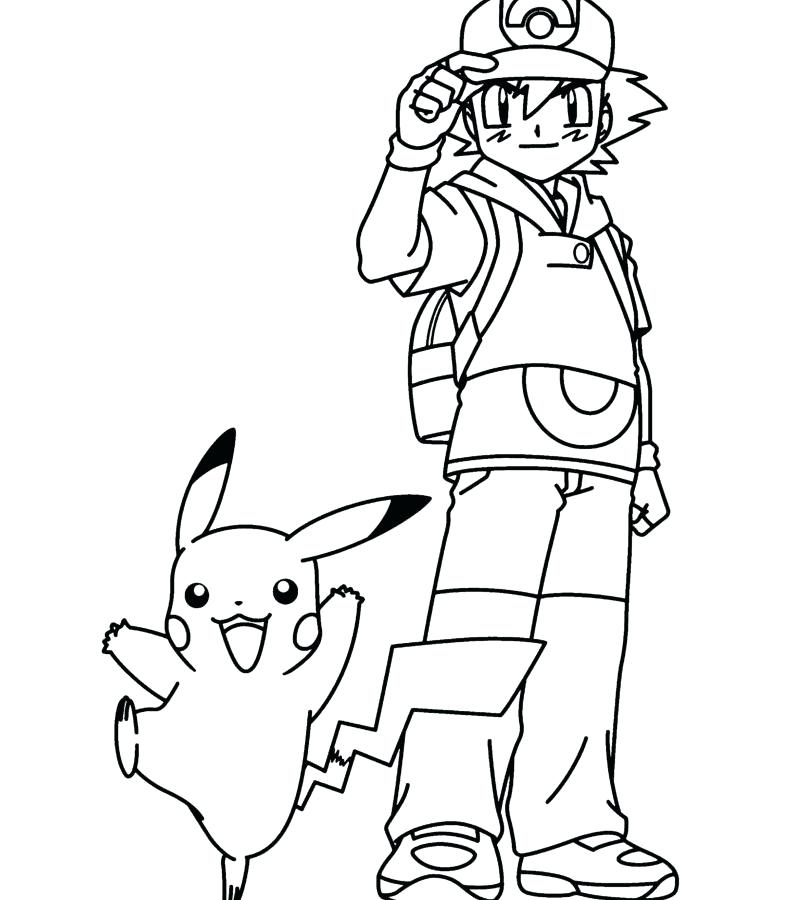 793x900 Pokeball Coloring Pages Ash And His Coloring Pages Cartoon