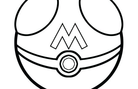 469x304 Pokeball Coloring Pages Coloring Pages Pokeball Coloring Sheets