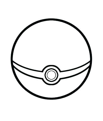 408x480 Pokeball Coloring Pages Printable Coloring Pages Ball Page Five