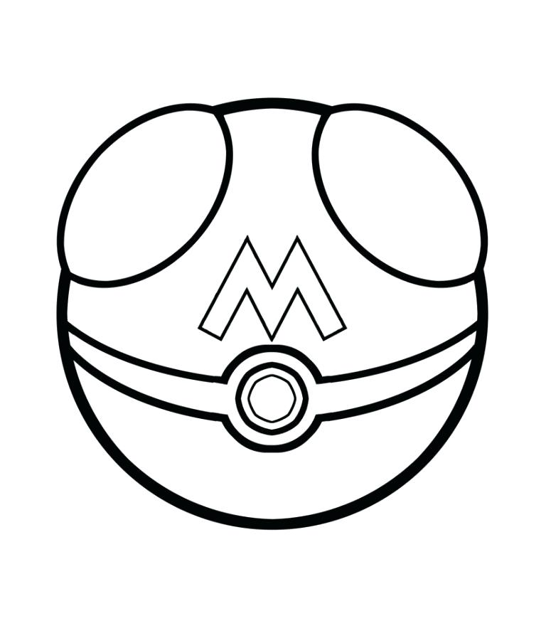 768x904 Coloring Pages With Printable Coloring Pages Pokemon Pokeball