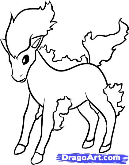 The Best Free Ponyta Coloring Page Images Download From 39 Free