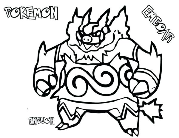 600x464 Pokemon Blacknd White Coloring Pages Drawing Color