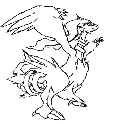 441x431 Pokemon Coloring Pages Reshiram Best Ideas For Printable