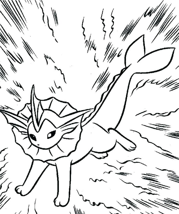 700x840 Vaporeon Coloring Pages Coloring Pages Coloring Pages Coloring