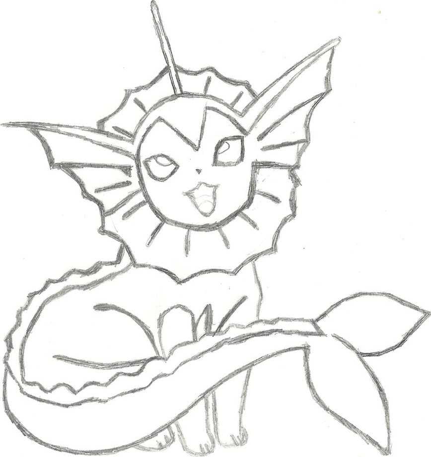 868x921 Vaporeon Coloring Pages Vaporeon Coloring Pages Coloring