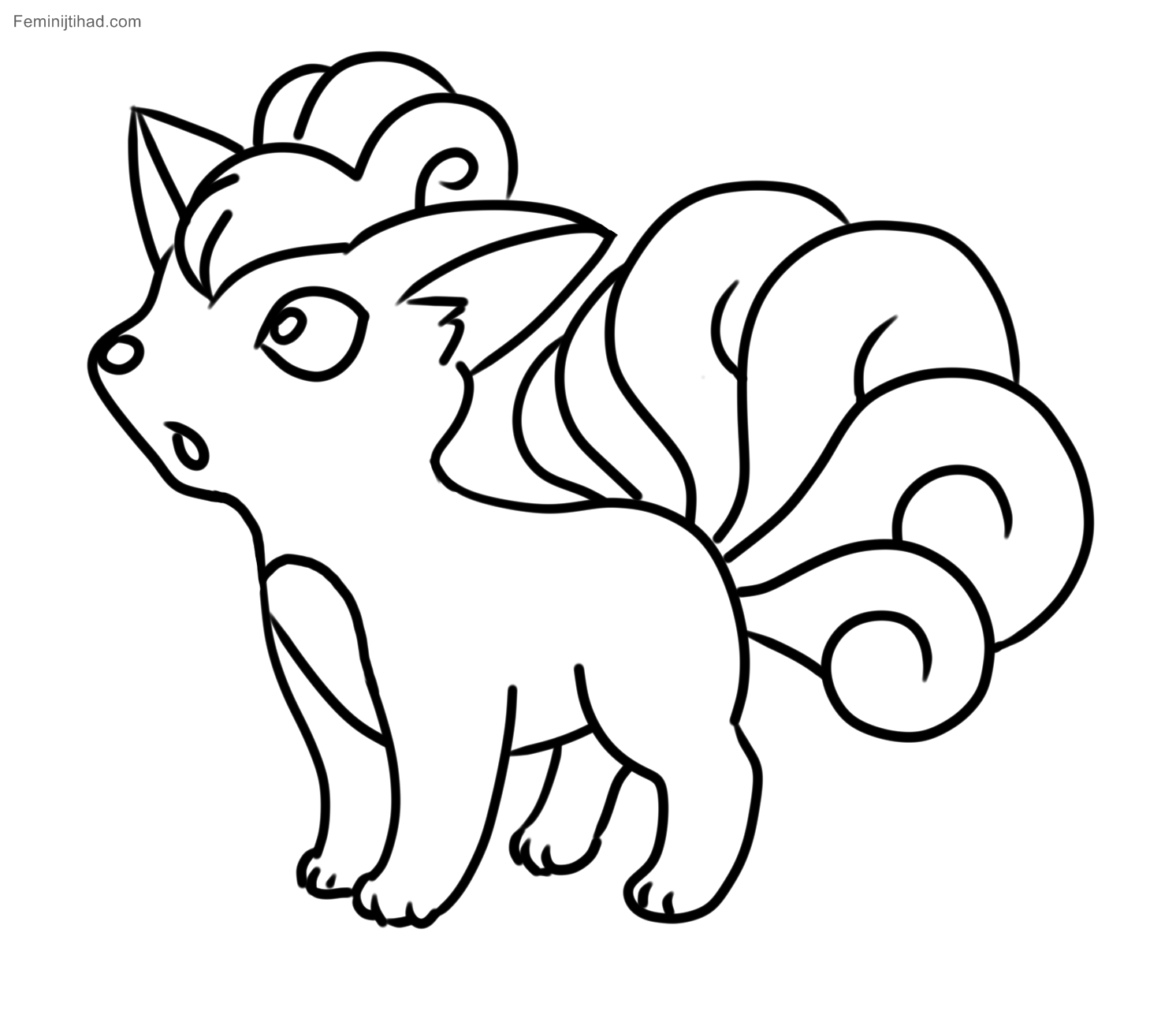 1492x1301 Pokemon Coloring Pages Of Vulpix Inspiration Pokemon Coloring