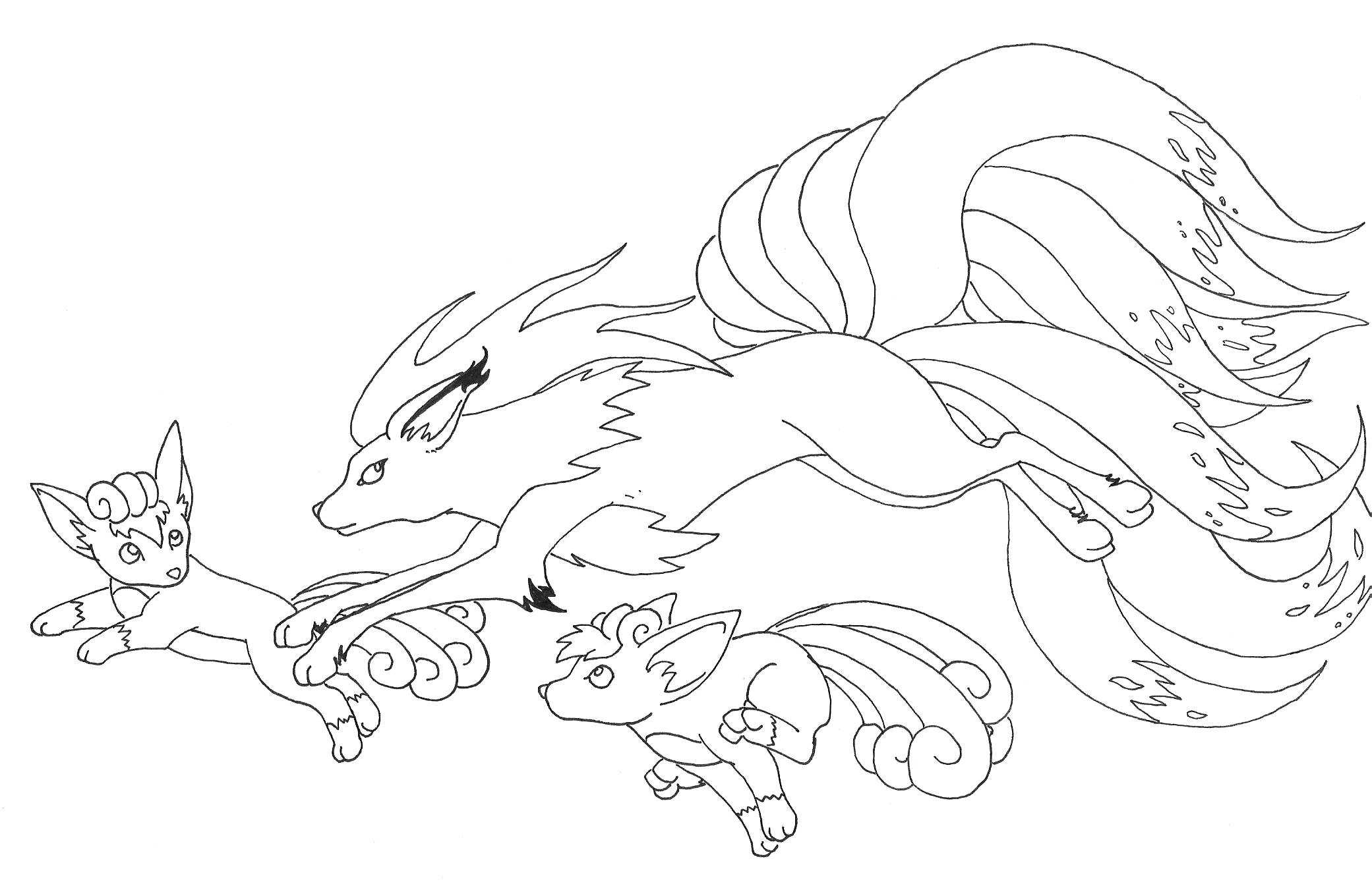 2081x1351 Vulpix Coloring Pages Download And Print For Free